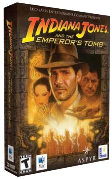 Indiana Jones and the Emperor's Tomb (2003) PC...