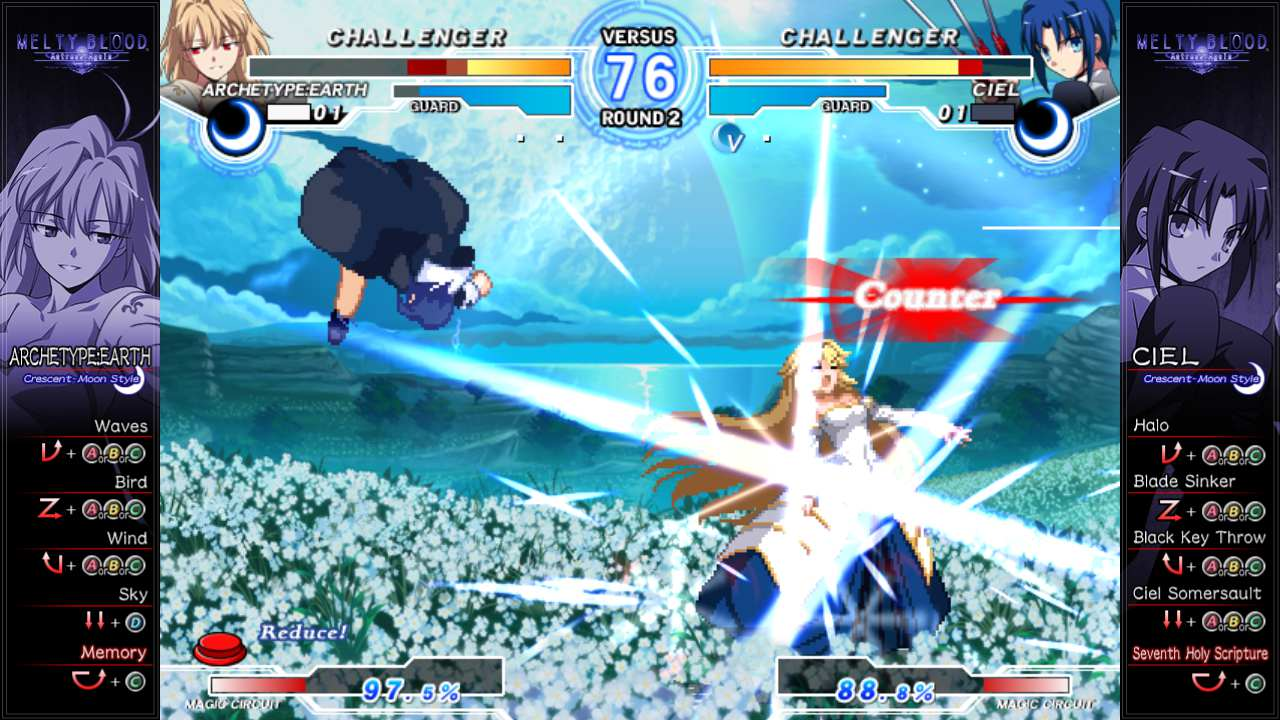 MELTY BLOOD Actress Again Current Code (Steam Version) (2016)