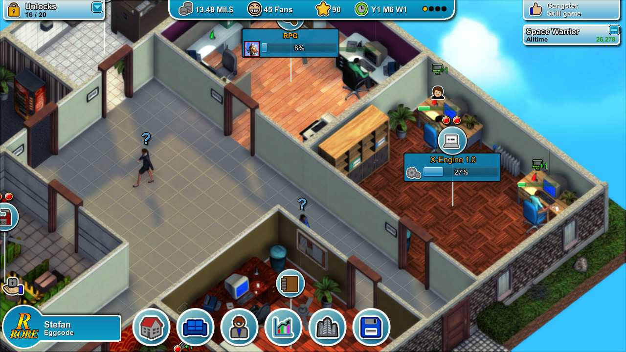 Mad Games Tycoon [v.R-1.171020A] (2016)