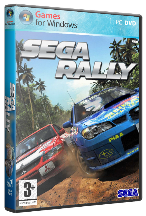 SEGA Rally (2007/PC/Русский/RePack)