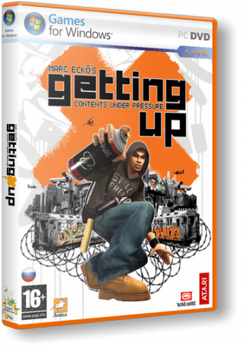 Marc Ecko's Getting Up: Contents Under Pressur...