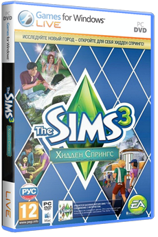 The Sims 3: Hidden Springs (2012) PC