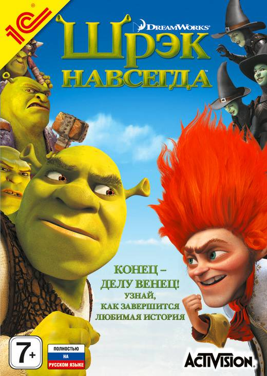 Шрек Навсегда / Shrek Forever After: The Game (2010)