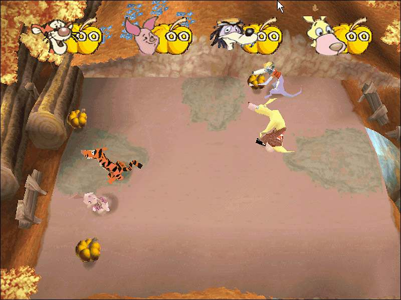 Disney's Pooh's Party Game: In Search of the Treasure / Disney's Party Time With Winnie the Pooh / Винни. Игры с друзьями (2001)