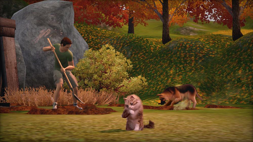 Sims 3 питомцы скачать торрент игра