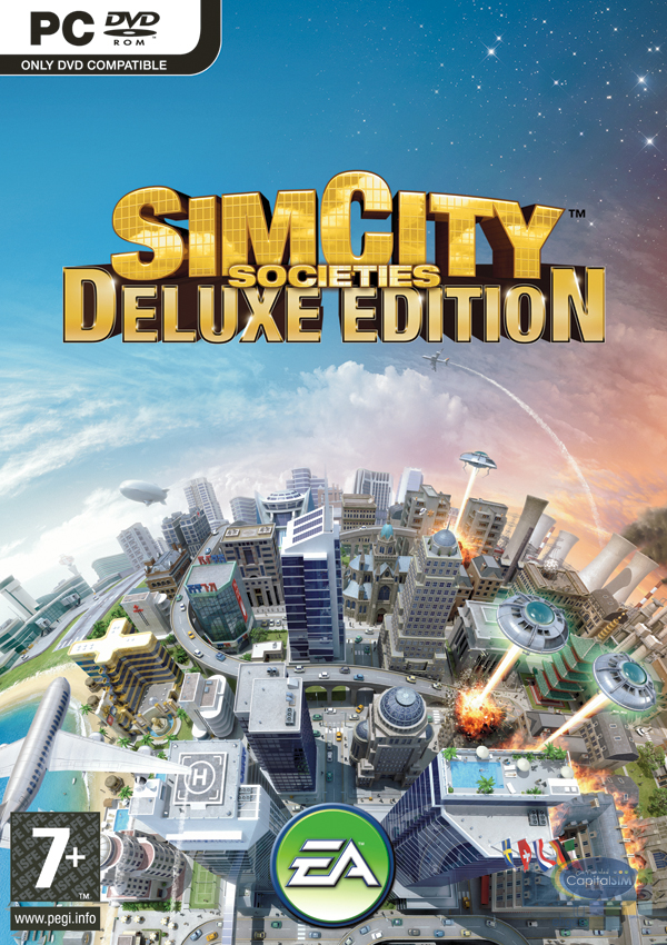 SimCity Societies Deluxe Edition (2008) PC | ...