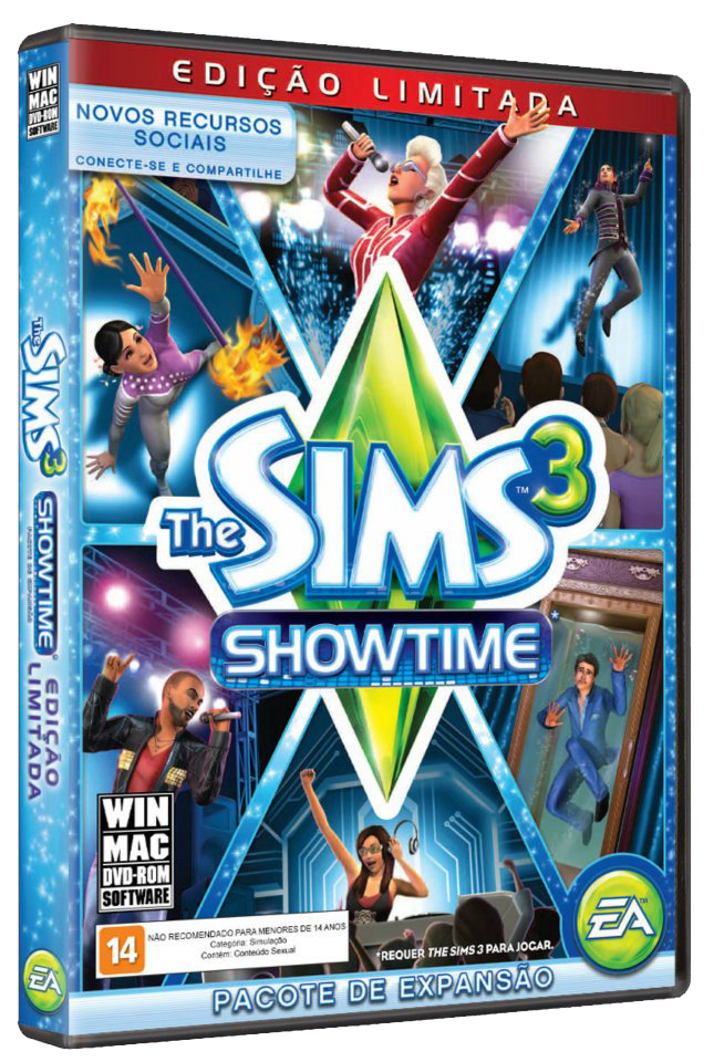 The Sims 3: Showtime (2012) PC