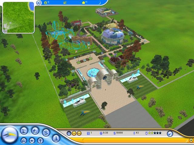 Аквапарк: Магнат развлечений / SeaWorld Adventure Parks Tycoon (2007) PC