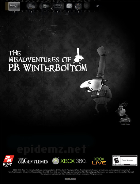 The Misadventures of P.B. Winterbottom (ENG) [RePack] [2010, Arcade]