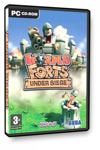 Worms Forts: В осаде / Worms Forts: Under Siege (2004) PC
